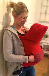 Baby Carrier Tragetücher & Mei Tai - Tragecover Leni - ein Designerstück von Greta_Krause b...