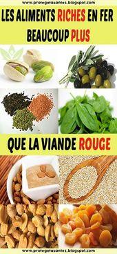 Les aliments riches en fer bien plus que la viande rouge   – Bouffe miam!!!!!
