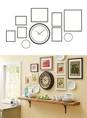 Better Homes & Gardens 20″ Silhouette Wall Clock – Walmart.com