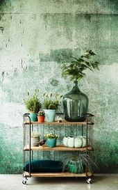 Wall design with sponge technology – 3 smart methods and ideas – living ideas and decoration