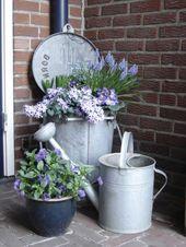 Vintage style front yard design: 26 chic garden decoration ideas #decoration … – #chic #Decoration #Design #Front – Ashe  – Garten Deko