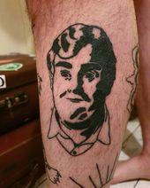 """Rou's Ink (Brent Roussel.ink) auf Instagram: """"Mat's Beine füllen die … – Cardiff tattoo artist, Rou's Ink."""