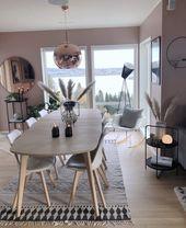 Tolle Inspiration für das Esszimmer   – Skandinavisch Wohnen