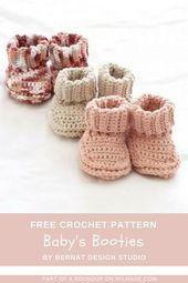 Häkeln Babyschuhe – Hekl – #Babyschuhe # Häkeln #Hekl #sie   – baby shoes