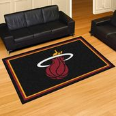 NBA – Miami Heat Ultra Plush Area Rug  – Products