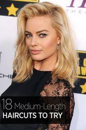 40 stilvolle mittellange Frisuren – Schönheit – # Schönheit #Frisuren # mittellange … – #von ….