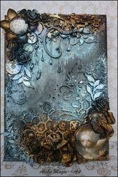 Handmade Journals Magic Canvas by Asia Lubera - Creative Embellishments