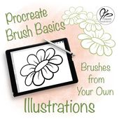 Illustrator Brushes Would you like to take one of your own unique doodles and turn it into a Procrea...