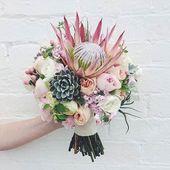 Dieses #Hochzeitsbouquet ist alles! Über @theperfectpalette   Blumen Mary Mary St …   – Elegant Wedding