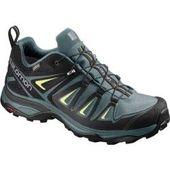 Salomon women's hiking shoes X Ultra 3 Gtx®, size 41? in Artic / darkest Spruce / Sunny Lime, size 41?