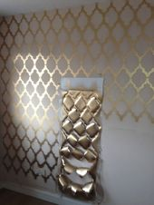 Geometric Print Wall