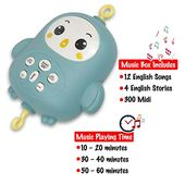Baby Shower Songs Bambiya Baby Crib Mobile w/ Music, Night Lights and Remote Control – Includes ...