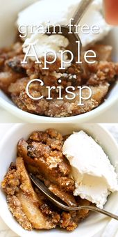 Grain-Free Apple Crisp   – Food