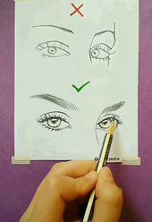 Bleistiftzeichnung Schritt für Schritt Eye Draws (realistisch und farbenfroh) -…