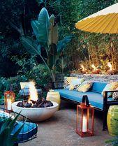 33 Gorgeous Bohemian Outdoor Patio Designs For Cozy Outdoor Space Idea – Sun Room