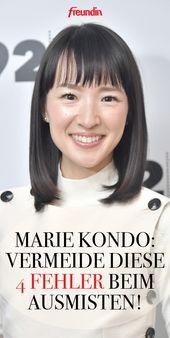 Aufräum-Queen Marie Kondo: Vermeiden Sie diese 4 Fehler beim Ausmisten