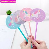 Kawaii Unicorn Gel Pen ~ Cute Pen, Cute Stationery, Fairy Tale Mythical Creature Unicorn Pens, Planner Pen, Girls Gift, Fun School Supplies