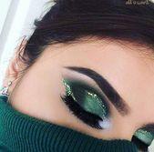 wie man grünen Lidschatten trägt   – Pinnwand Mia
