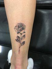 Tatuajes – #Bein #Flowers #Foot #Siblings #Dog #Children