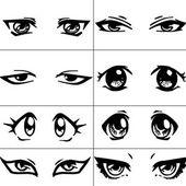 yandere  Google Search  Drawing help  Pinterest  Ojos Dibujo