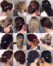 hairstyles, hair tutorial, wedding hairstyles, hairstyle, hair, hairstyles for l…