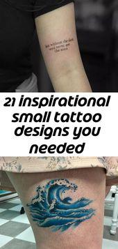 21 inspirierende kleine Tattoo Designs, die du gestern gebraucht hast – autowani journal