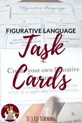 Figurative Language Process Playing cards