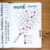 11 Creative Mood Tracker Bullet Journal Ideas
