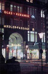 Ddr Leuchtreklamen In Leipzig Leipzig Ddr Geschichte Deutschlands