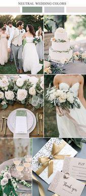 30+ Green Wedding-ideeën die eigenlijk prachtig zijn — groene en witte bruiloften …