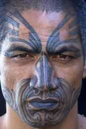Cool face tattoo designs