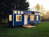 """28' """"Cadence"""" Tiny House on Wheels by Handcrafted Movement   – Tiny house exterior"""