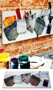 Canvas-Recycling von Jeans – #CanvasRecycling #jea…