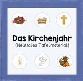 Tafelmaterial zum Kirchenjahr (neutrale Version) W…