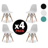 Une Chaise Design Bois Et Aux Formes Tres Tendance Veritable Best Seller Du Mobilier Design Classique La Chaise Style Eames Avec Chair Eames Chair Furniture