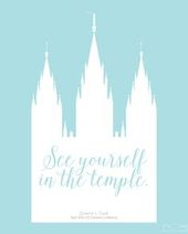 """""""See yourself in the temple."""" LDS General Conferen…"""