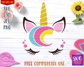 Unicorn svg, custom unicorn t shirt, unicorn png, cute unicorn, kawaii unicorn, printable unicorn, svg cut file, svg file for silhouette