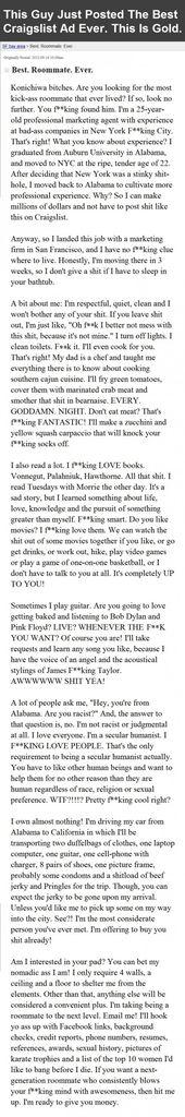 16 Insane Craigslist Ads Ideas Craigslist Bones Funny Make Me Laugh