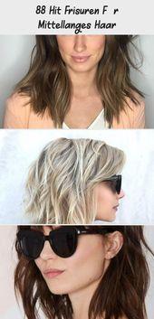 88 hit hairstyles for medium-long hair