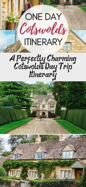 Visit the best Cotswold villages in one day with this Cotswolds driving itinerar…