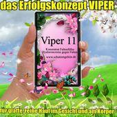 Wangen trocken Falten Viper 11