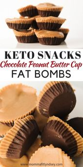 Chocolate Peanut Butter Keto Fats Bomb Recipe | Keto Recipes | #rumahtabloid