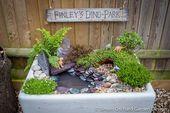 So erstellen Sie einen Mini-Dinosaurier-Garten Garden Designer London – Simon Orchard Ga …   – Garten Dekoration