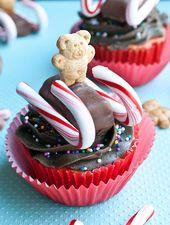 15 cupcakes navideños tan lindos que no querrás morderlos   – mis cakes