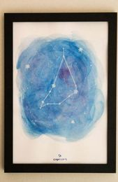 Trendy Tattoo Aquarell Sternzeichen Sternbilder Ideen, #ConstellationTattoowatercolor #c …,…