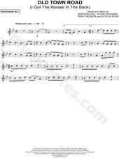 Old Town Road By Lil Nas X On Flute Flutemusic Flute Sheet