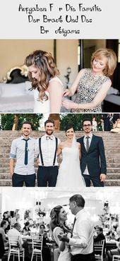 Aufgaben Für Die Familie Der Braut Und Des Bräutigams