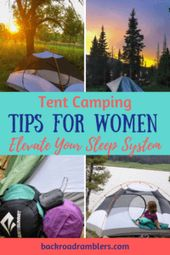 Tent Camping Tips for Women: Elevate Your Sleeping System