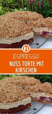 ESPRESSO-MUTTERTORTE MIT KIRSCHEN – Rezepte
