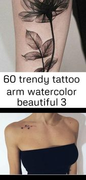 60 trendy tattoo arm watercolor beautiful 3